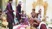 Hindu wedding Laaja-Havan